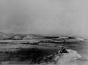"""Fort Pierre Dak. and the Adjacent Prairi..."